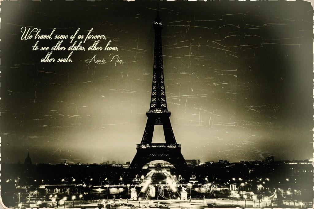 Journeys Club direct mail Paris postcard