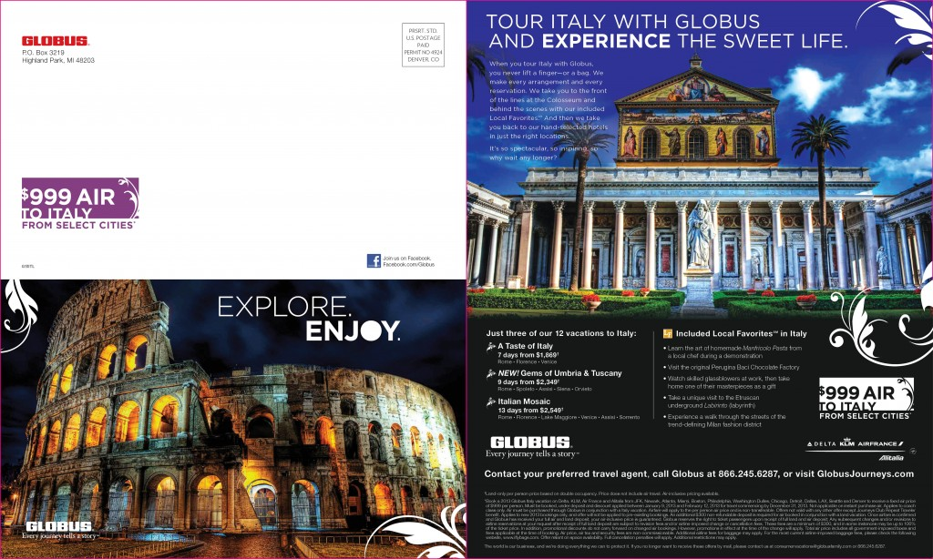 Globus Italy Direct Mail