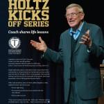 Lou Holtz Trine Magazine page