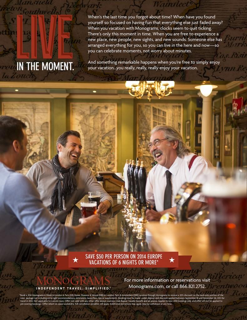 Monograms magazine ad