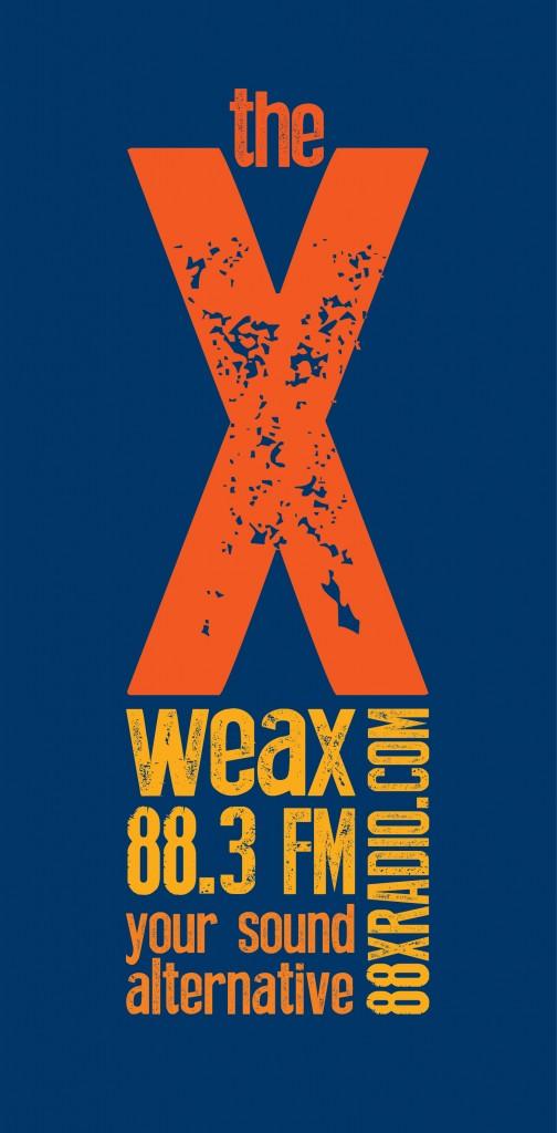 WEAX radio station logo